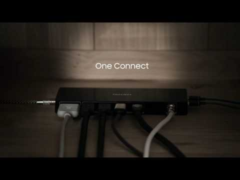 Samsung Premium TV - Clean Cable Solution