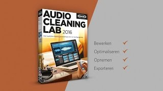 MAGIX Audio Cleaning Lab 2016 (NL) - MP4 naar MP3