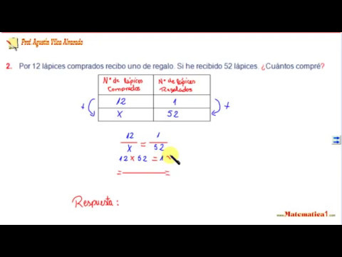 REGLA DE 3 SIMPLE DIRECTA E INVERSA EJEMPLOS RESUELTOS PARA NIñOS ...