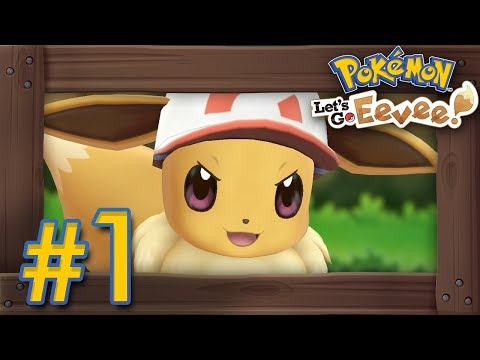 Pokémon Lets Go Pikachu & Eevee: Walkthrough Part 1  Intro, Veridian Forest & Pewter Gym