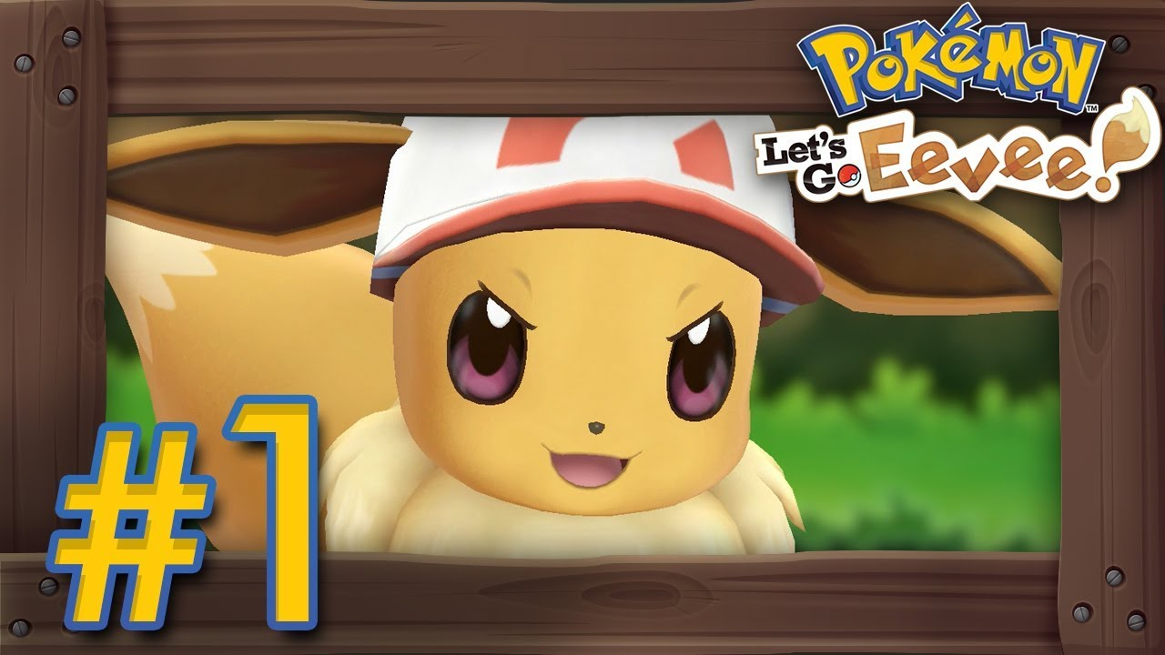 Pokémon Let S Go Pikachu Eevee Walkthrough Part 1 Intro Veridian Forest Pewter Gym Youtube