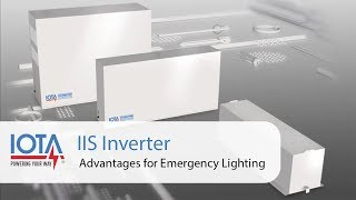 IOTA IIS Inverter Advantages for Emergency Lighting