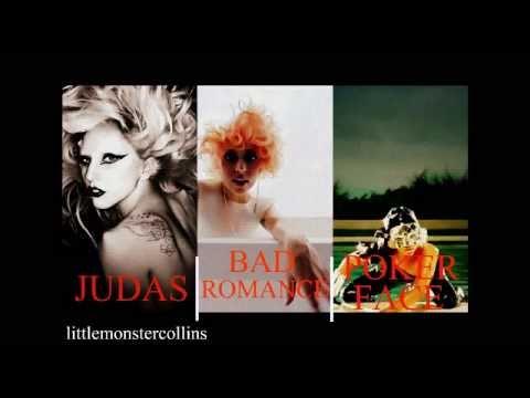 Lady Gaga  Judas Mash up Bad Romance Vs Poker Face