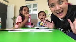 Drama Pendidikan | Zara Cute jawab TTS Teka Teki Silang | Yuk Anak Indonesia Rajin Baca Buku