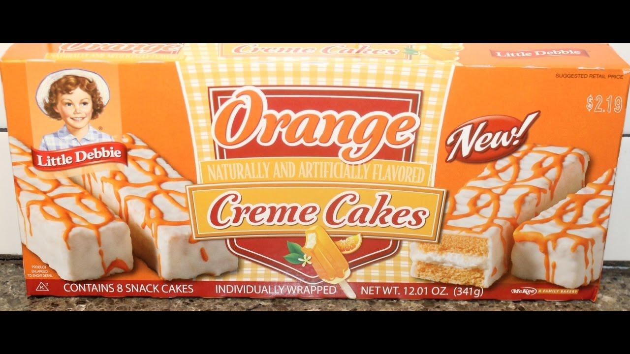 Orange Cream Cakes Little Debbie