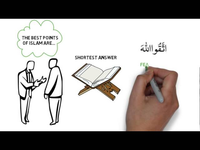 What Islamic teaching best quickly introduces Islam to people?