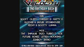 Velocity - 2nd Birthday Bash - Dj Scott - Mc's Impulse & Letrix
