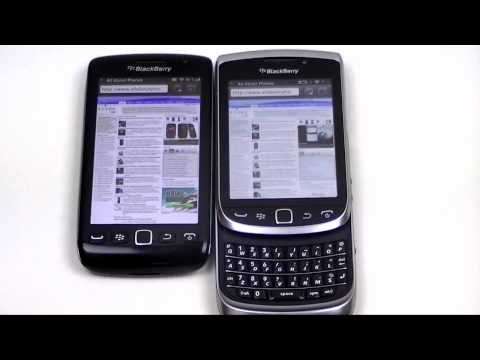 Dutch: BlackBerry Torch 9810 vs BlackBerry Torch 9860