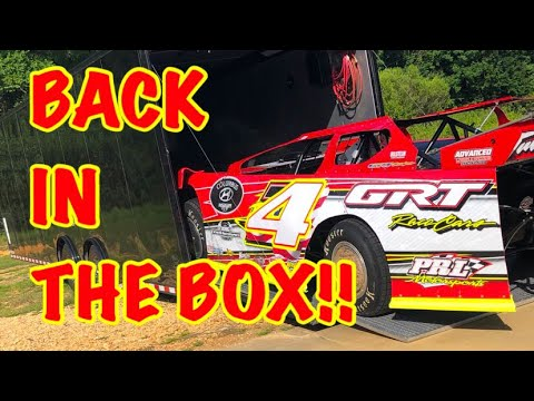 Back in the Box at Magnolia Speedway