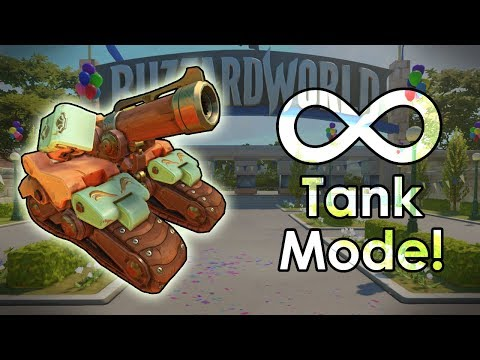 The (Blizzard) World of Infinite Bastion Tanks - Overwatch Custom Game