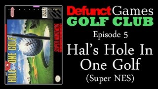Defunct Games Golf Club: Hal's Hole In One Golf (Super NES)