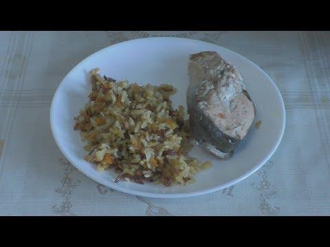Рис с горбушей в мультиварке