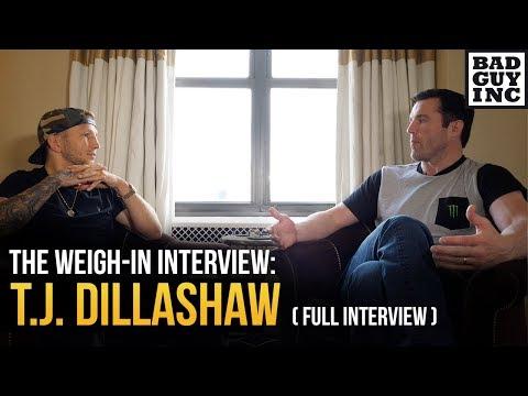 T.J. Dillashaw (full interview)