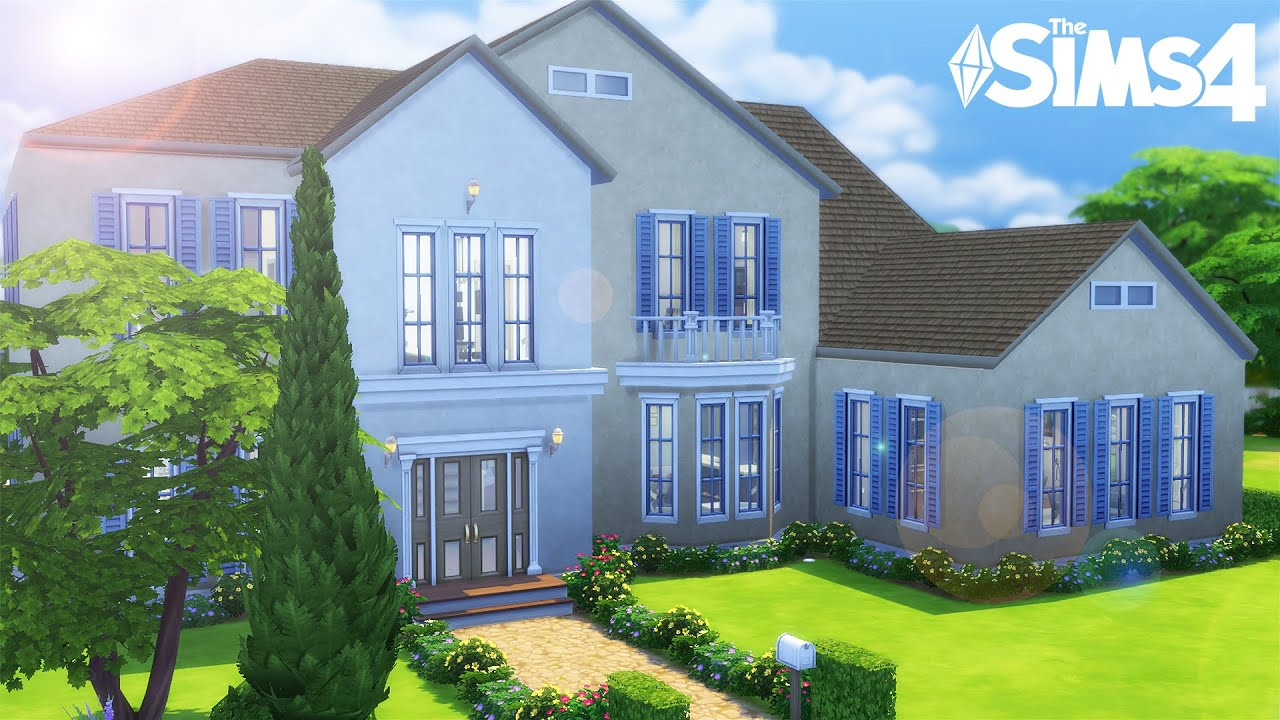 Classic construction sims 4 youtube for Image construction maison