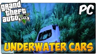 UNDERWATER CARS MOD GTA 5 PC | ¡Conduce bajo el agua! | GTA V MOD SHOWCASE ESPAÑOL