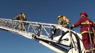 Formation des pompiers Canadien au Québec !!! (CNDF)