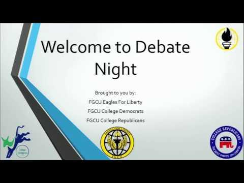 Libertarian vs Progressive vs Conservative Debate - Florida Gulf Coast University