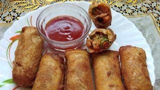 Chicken Tandoori Bread Roll | Ramzan Special Recipe | Ghare's kitchen