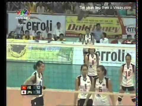 VTV Cup 2011:Vietnam vs Japan-Semifinal(Bán Kết)
