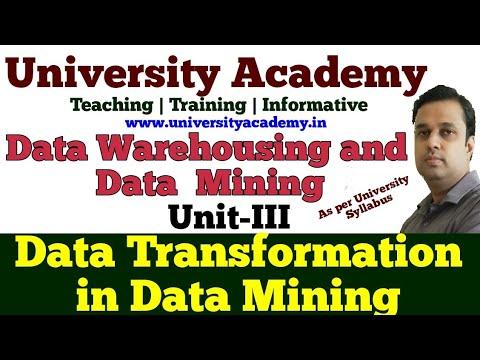 DWM20: Data Integration And Transformation In Data Mining   Data Integration Algorithms