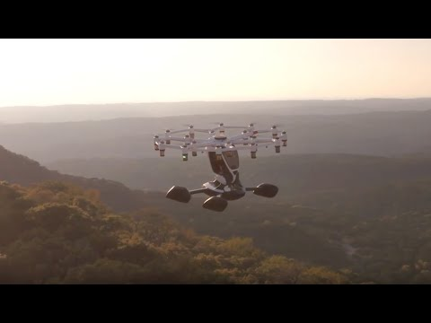 The Hexa manned multirotor: It's real, and you can fly it