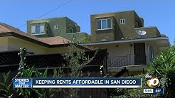 Keeping rents affordable in San Diego