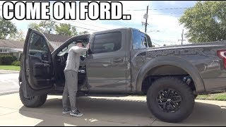 Ford Raptor FIRE Hazard FIX!