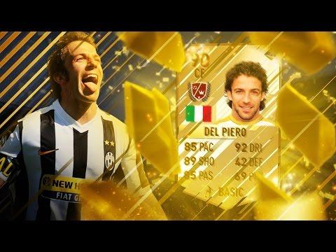 FIFA 17 - Alessandro Del Piero - Legend Review