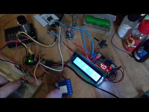 Arduino Nano Dampfer Vape Mod PWM I2C Clock LCD - YouTube