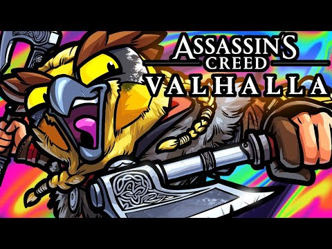 Assassin's Creed Valhalla Funny Moments - Playing Like A True Viking!