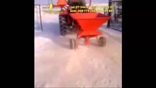 Rozsiewacz nawozu soli piasku