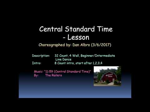 Central Standard Time   Lesson