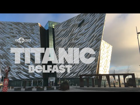 El museo del Titanic más grande del mundo! Irlanda #18