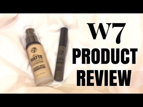 W7 MATTE MADE IN HEAVEN & THE QUEEN OF BROWS FIRST IMPRESSION | itsmeReyshel