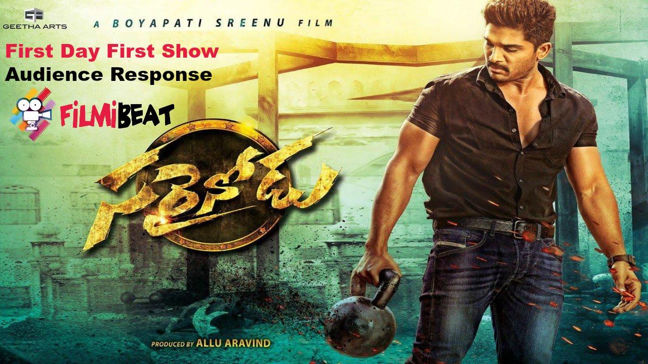sarrainodu movie public review allu arjun in power packed