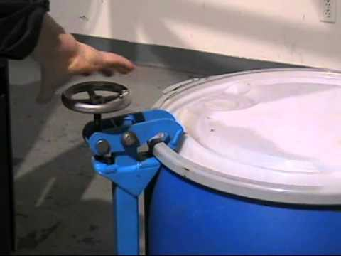 MORcinch Drum Handling System to Handle Almost Any Drum with the same drum handler