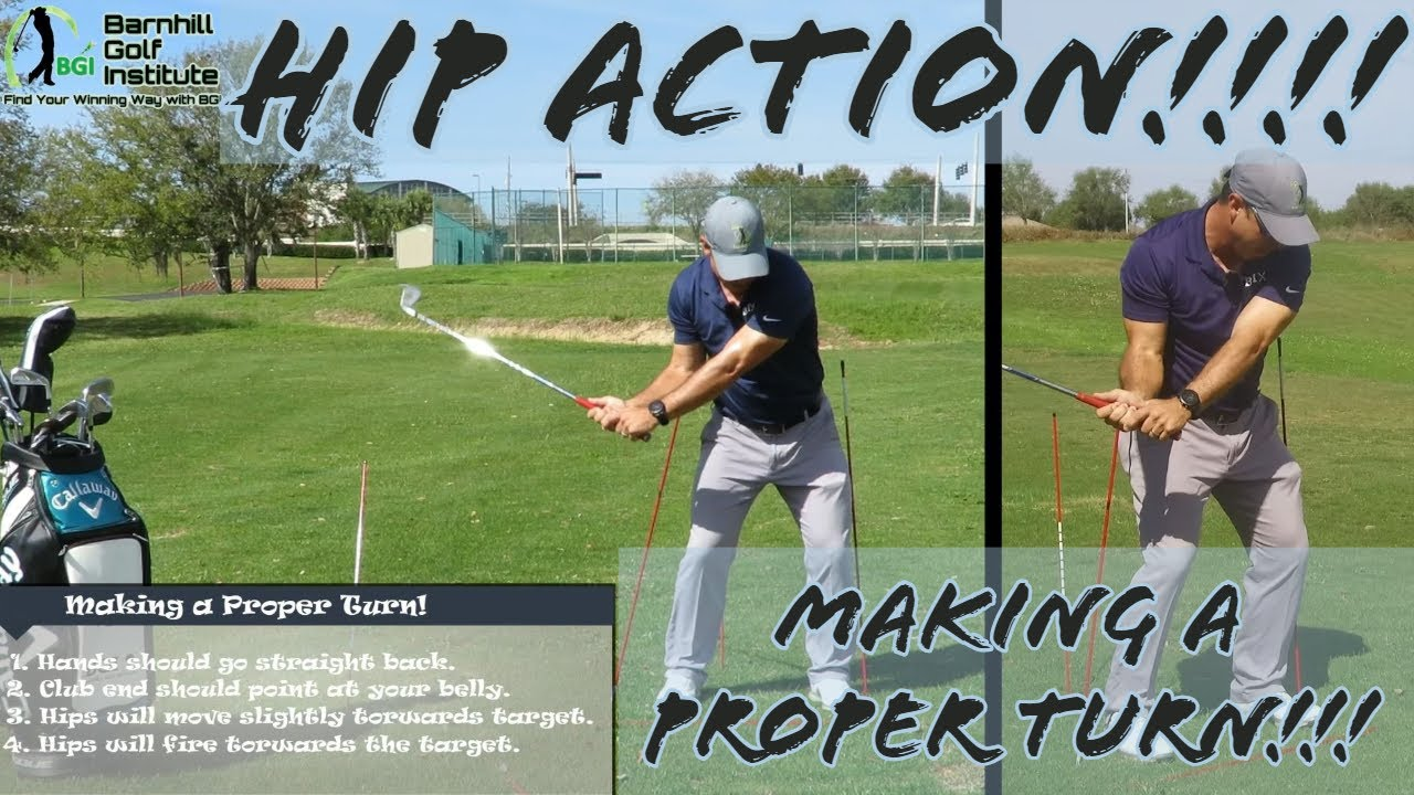 5 Tips - On How to move your Hips in the Golf Swing - BGI