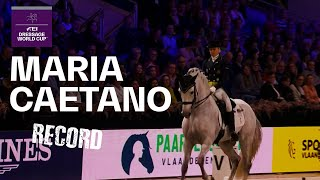 Maria Caetano & Coroado Record Breaking Performanc...