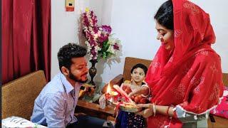 शादी के बाद हुआ पहली बार ऐसा राखी में के पति को... Rakshabandhan Vlog 2019