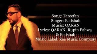 Tareefan full lyris