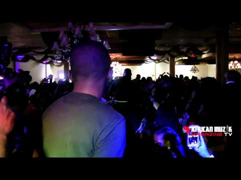 Iyanya Live performance at the African Muzik Mag Launch