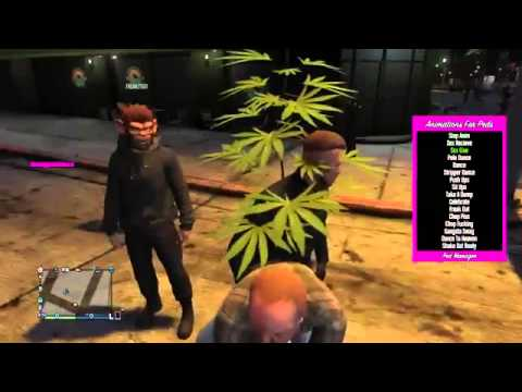 GTA 5 SPAWNING DANCING PEDS ON PLAYERS ONLINE TROL