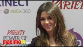 VICTORIA JUSTICE at 4th Annual Power of Youth Event Arrivals