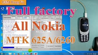 Format Factory Nokia 3310 and All Nokia by tool and USB-GSM Hung Vu.