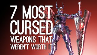 7 Most Cursed Weapons That Weren't Worth the Hassle