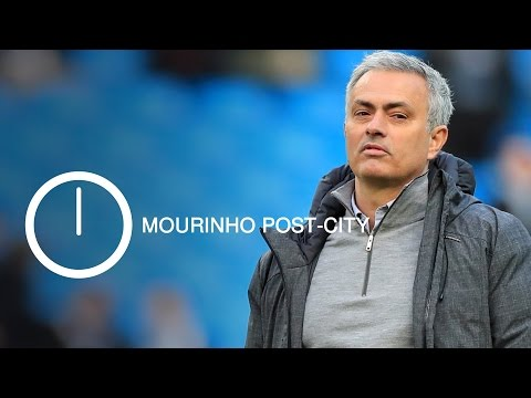In 90 Seconds - Jose Mourinho On Top Four Battle & Fellaini Red Card