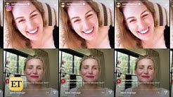 Cameron Diaz Talks Mom Life for FIRST TIME in Rare Instagram Live