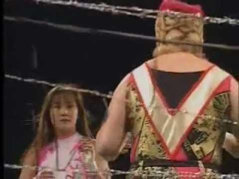 FMW - Combat Toyoda vs. Megumi Kudo (No-Rope Electrified Barbwire Deathmatch)
