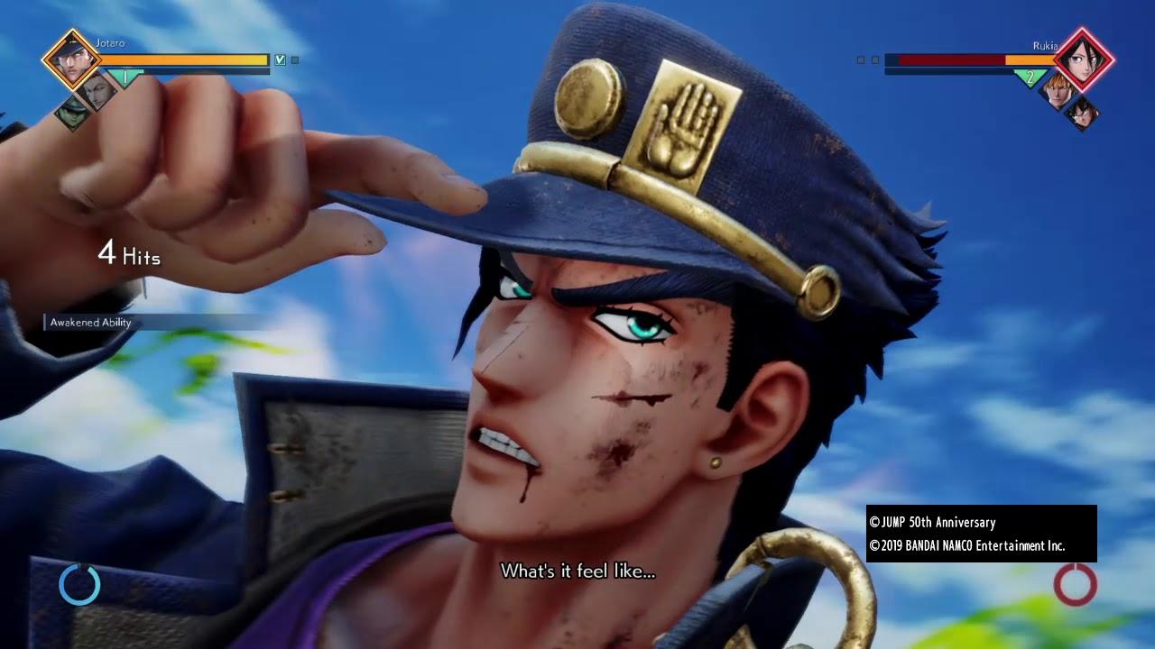 Jotaro is fair and balanced