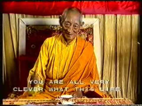 Kalu Rinpoche  -  BARDO